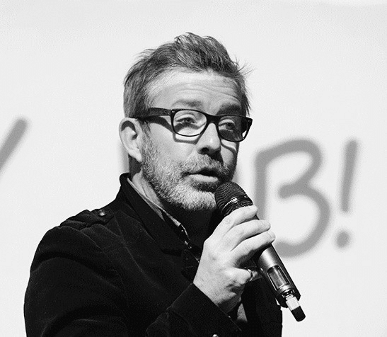 Gaël Chatelain au micro - talentcloudm.com